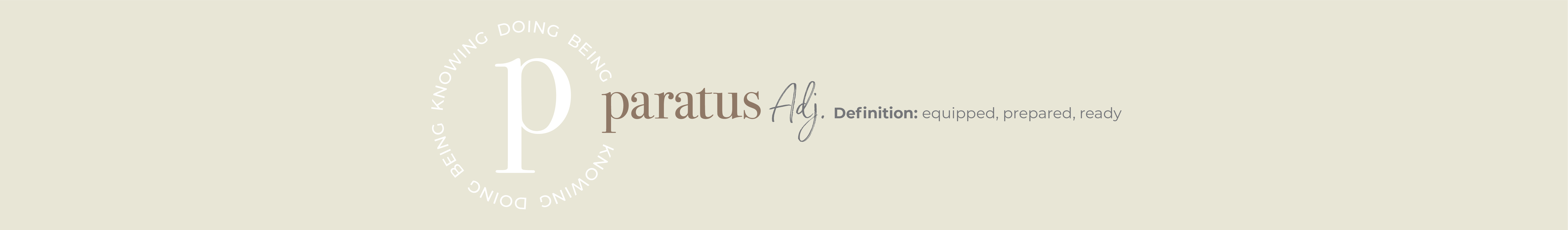 Paratus logo and definition.