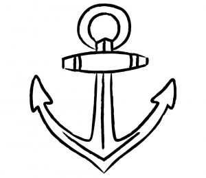 Illustration of a anchor.