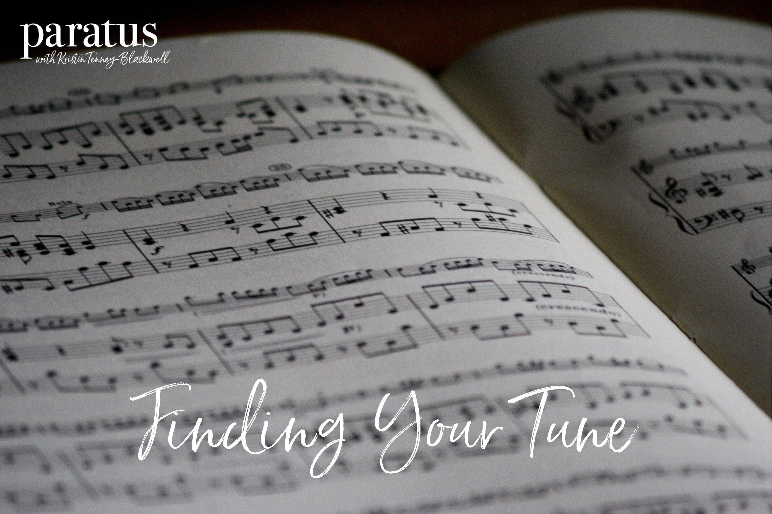 Finding Your Tune blog post cover